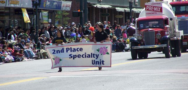 Apple Blossom Parade  - 2nd Place Specialty Units